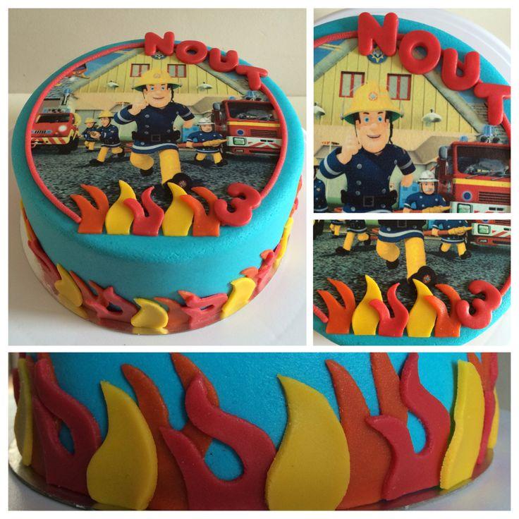 #brandweermanSam taart, #firemanSam cake
