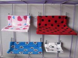 Inspiration - Wire Shelf Hanger Hammocks #rats
