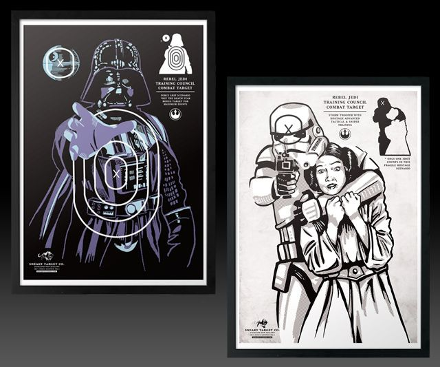Star Wars Shooting Targets | DudeIWantThat.com