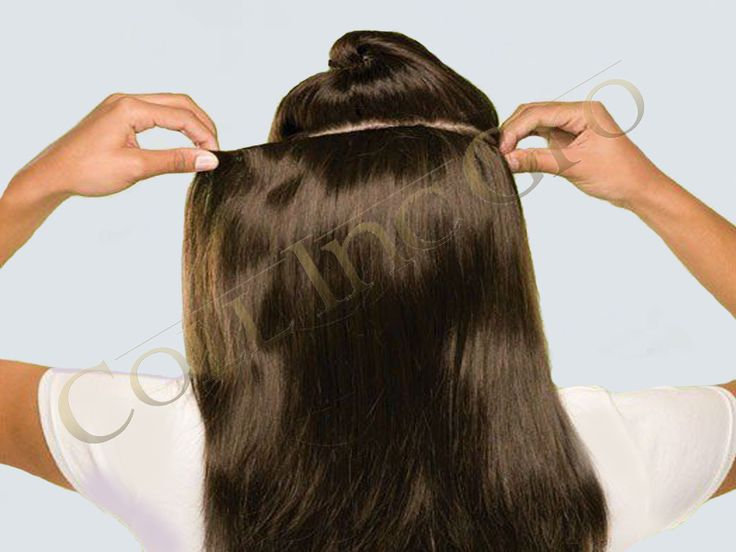 ProHair hair clip in hair extension is the perfect solution if you want to add volume and keep styling possibilities. The clip in hair extensions are directly clipped into your hair. Clip in hair extensions can be removed as fast as you can fix them in your hair.  ► No need for a professional to assist with clip in hair extensions. ► Within a few minutes you achieve a complete new look