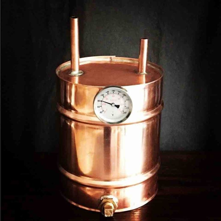 Handmade Copper Whiskey Still Kit, 5 Gallon