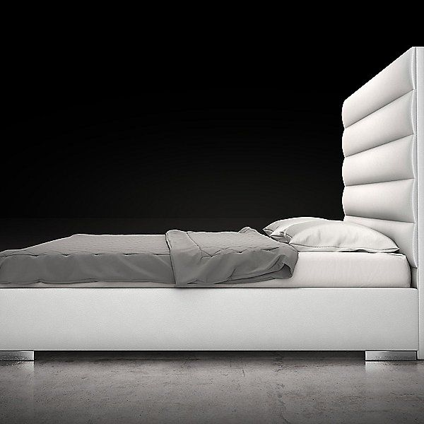 Modloft Prince Bed Md319 T Wht Size Twin In 2020 Princes
