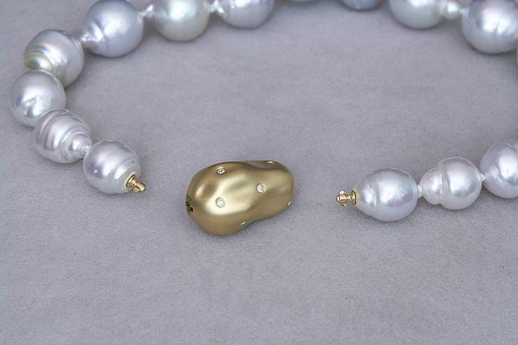 Luna-Pearls Brillant Kugelkopf Bajonettverschluss - Kaufen bei SAR Creative Marketing AG