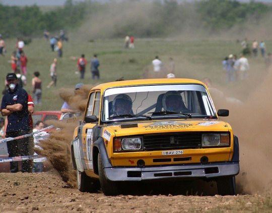 Lada Riva rally car