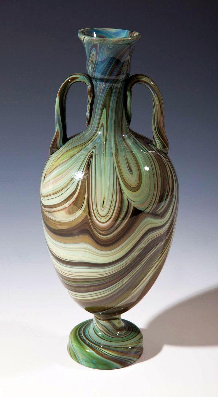 Chalcedony glass vase by Lorenzo Radi, ca. 1860-1873, Muzeum Narodowe w Krakowie (MNK)
