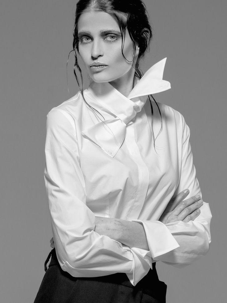 Balossa White Shirt Fall 2016 Lookbook - Sigute Shirt