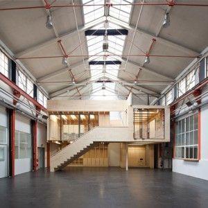 Burckhardt machine factory renovation by Stereo Architektur