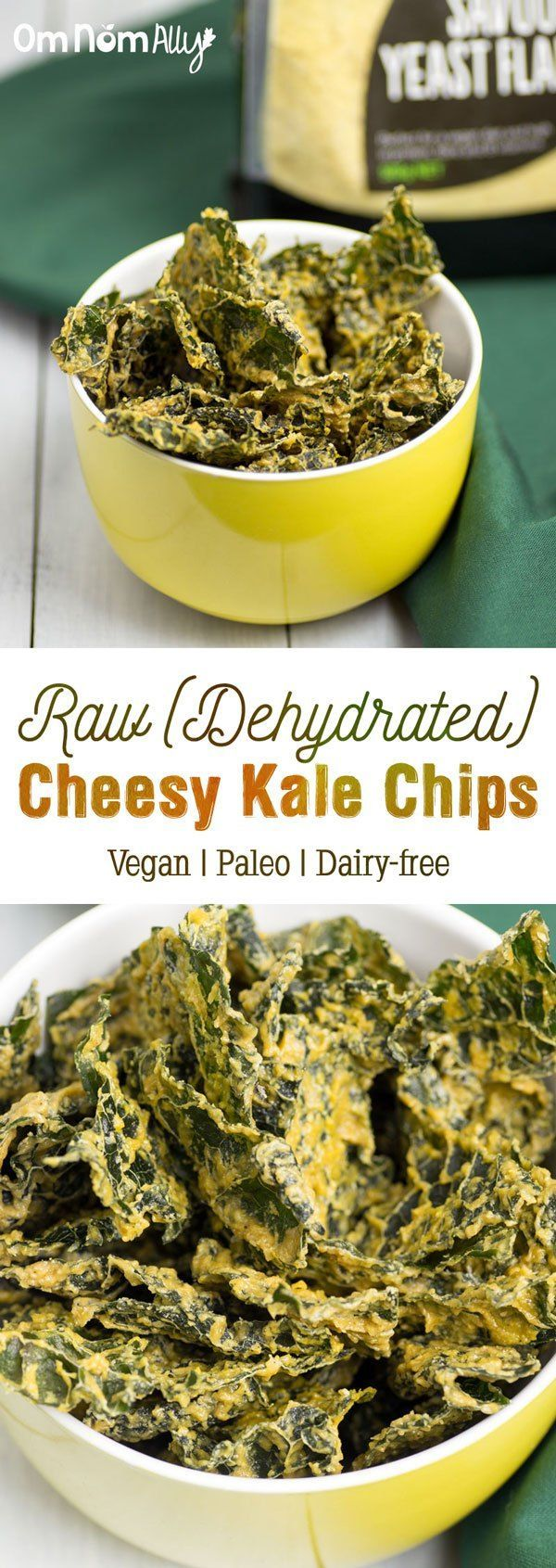 ... Cheesy Kale Chips on Pinterest | Kale Chips, Kale and Chips Recipe