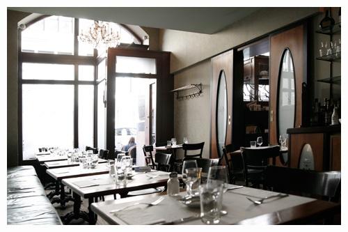cafe Paris - art noveau