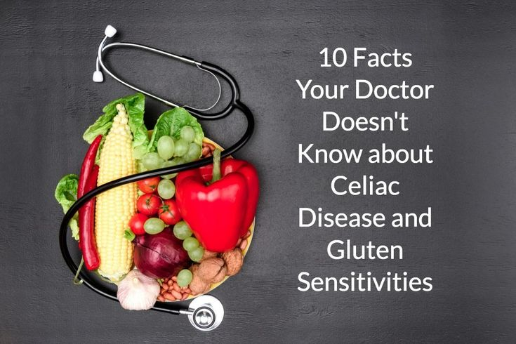 10 Facts Your Doctor Doesn't Know about Celiac Disease ...