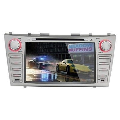 K-Navi 8 Inch Car Bluetooth DVD Player Multimedia GPS Navigation System Android For Toyota Camry 2007-2011 HD Screen 1204*600 - For Sale