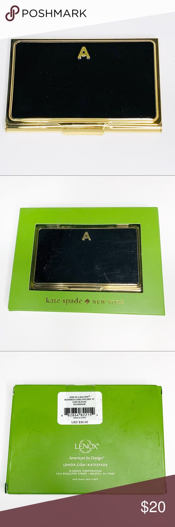 nwt kate spade business card holder  business card