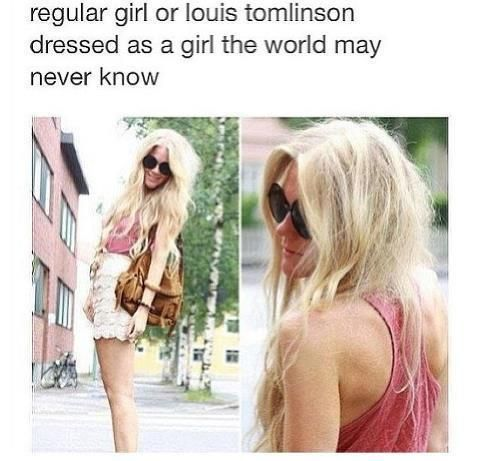 Omg its freakin louis DUDE FIRST HARRY NOW LOUIS I SWEAR ITS REAL GUYS