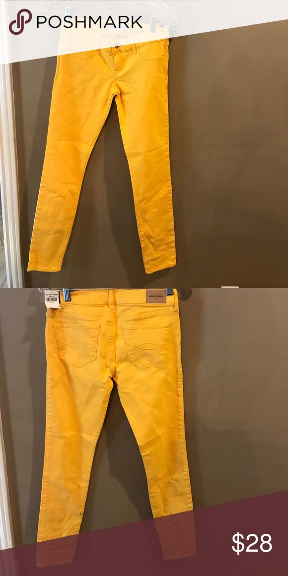 Abercrombie girls yellow jeans size 14 Abercrombie girls jeans 14 yellow brand new with tags Abercrombie & Fitch Bottoms Jeans