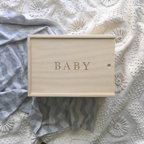 Baby Keepsake Box ** PREORDER **