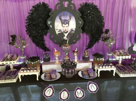 MALEFICA-MALEFICENT Candy Bar   CatchMyParty.com