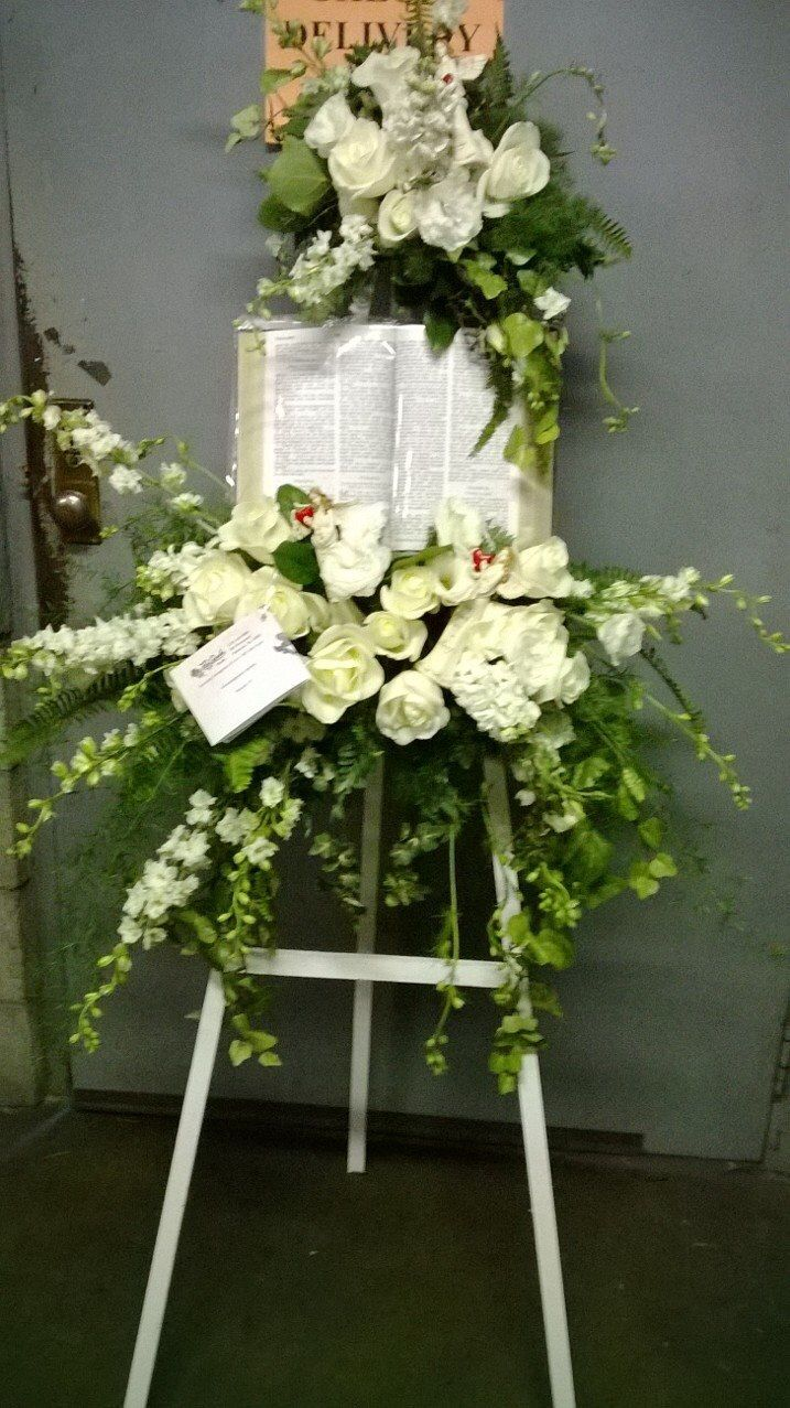 11 best Funeral Flowers images on Pinterest   Funeral flowers ...