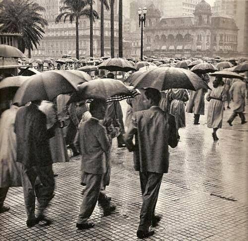 Viaduto do Chá, 1959.