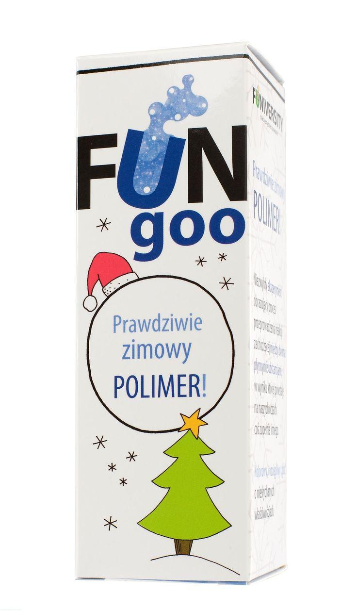 FUN goo zimowy - mini eksperyment - polimery FUNIVERSITY | MaliCiekawscy.pl
