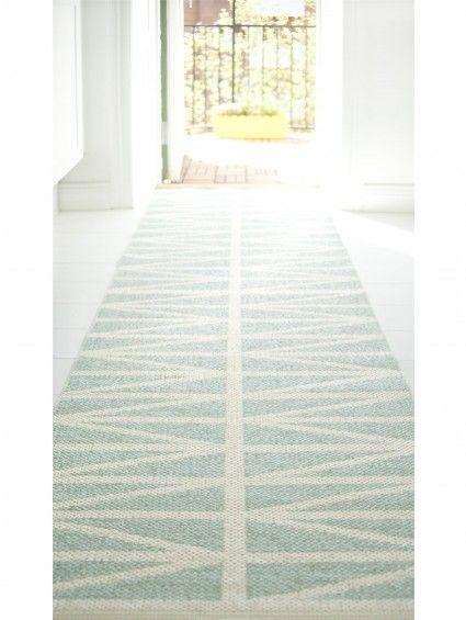 Kunststoff In- & Outdoor Läufer Helmi Türkis #benuta #teppich #pastell #interior #rug