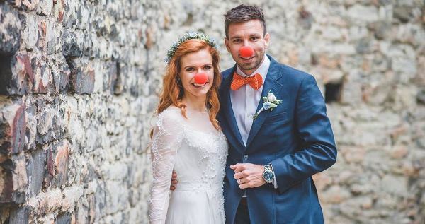 Manželé Gabriela a Petr Koukalovi
