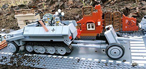 Modbrix 24422180 - 480 teiliges Bausteine Set, Schützenpanzerwagen Sd.Kfz 251 inkl. Pak 36 & original Lego© Wehrmacht Soldaten Brigamo http://www.amazon.de/dp/B00S1KXTRW/ref=cm_sw_r_pi_dp_Q8bjvb0SSB723