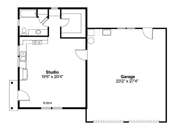 106 best plans images on pinterest floor plans my house for Garage studio apartment plans
