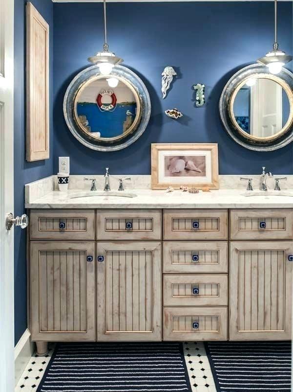 Kids Nautical Bathroom Decor Drawer Handles Design Ideas Pictures Nautical Bathroom Decor Nautical Bathroom Furniture Nautical Bathrooms