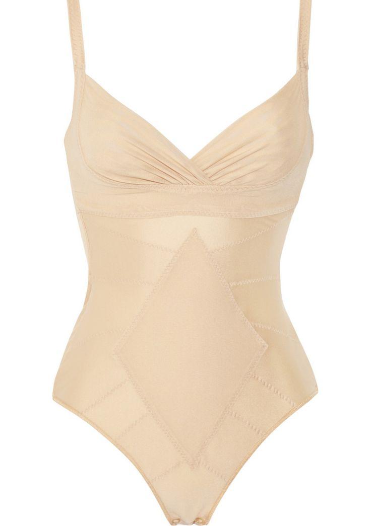 """Perfekt für tief dekolletierte Kleider: der """"Ginger Body"""" von DMondaine. Figur-Plus: Der Stretch-Einsatz in Diamantform lässt die Taille schlanker erscheinen. 188 Euro"""