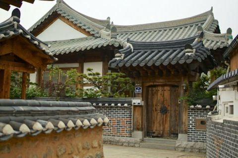 Beautiful Korean house( hanok jip) #Korea