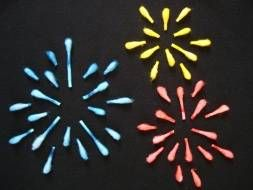 Q Tip Fireworks
