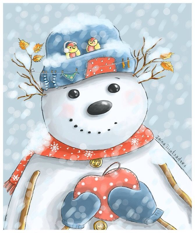 Mr Snowman On Christmas Touching A Snowflake Coloring Page: 17 Best Images About Snowman On Pinterest