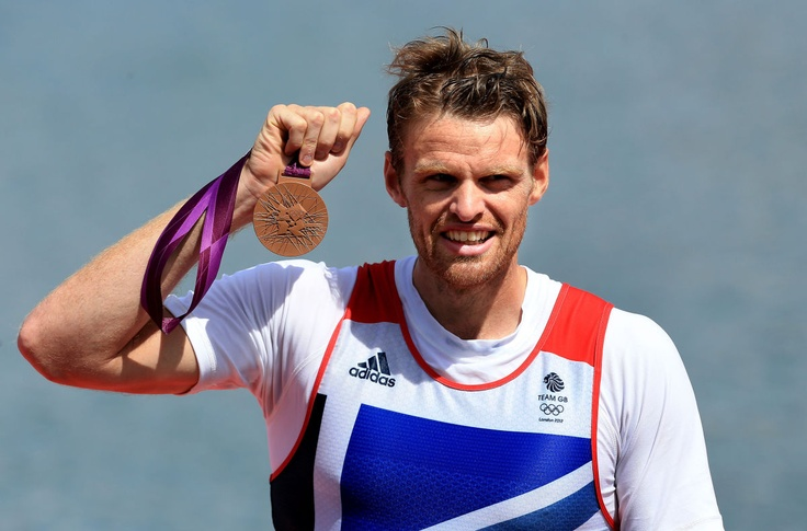 Alan Campbell : BRONZE - Rowing, Men's Single Sculls