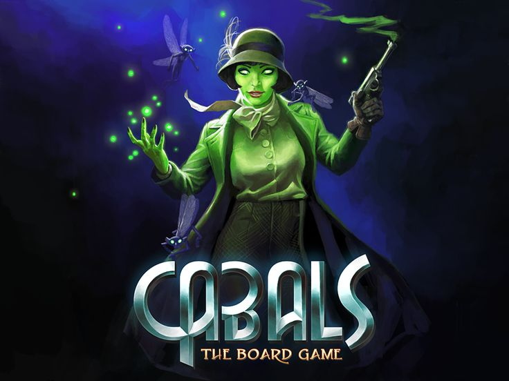 Cabals: The Board Game on Kickstarter!!
