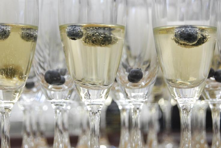 Blueberry champagne - Fuchsia Epicerie Fleur