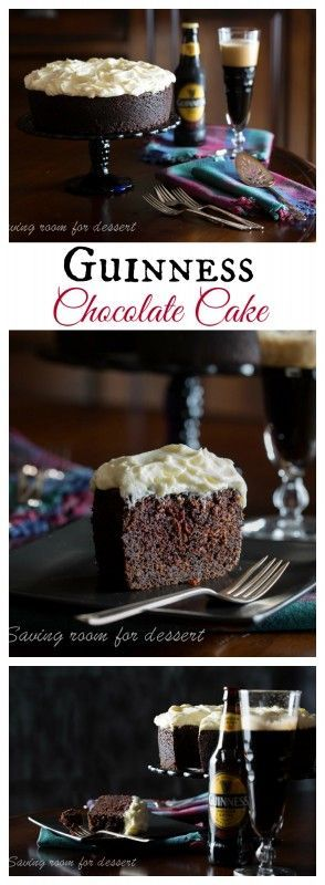 Guinness Chocolate Cake for the chocolate lover in your life! This is a deliciously moist cake with an amazing flavor - always a favorite with those lucky enough to get a slice!
