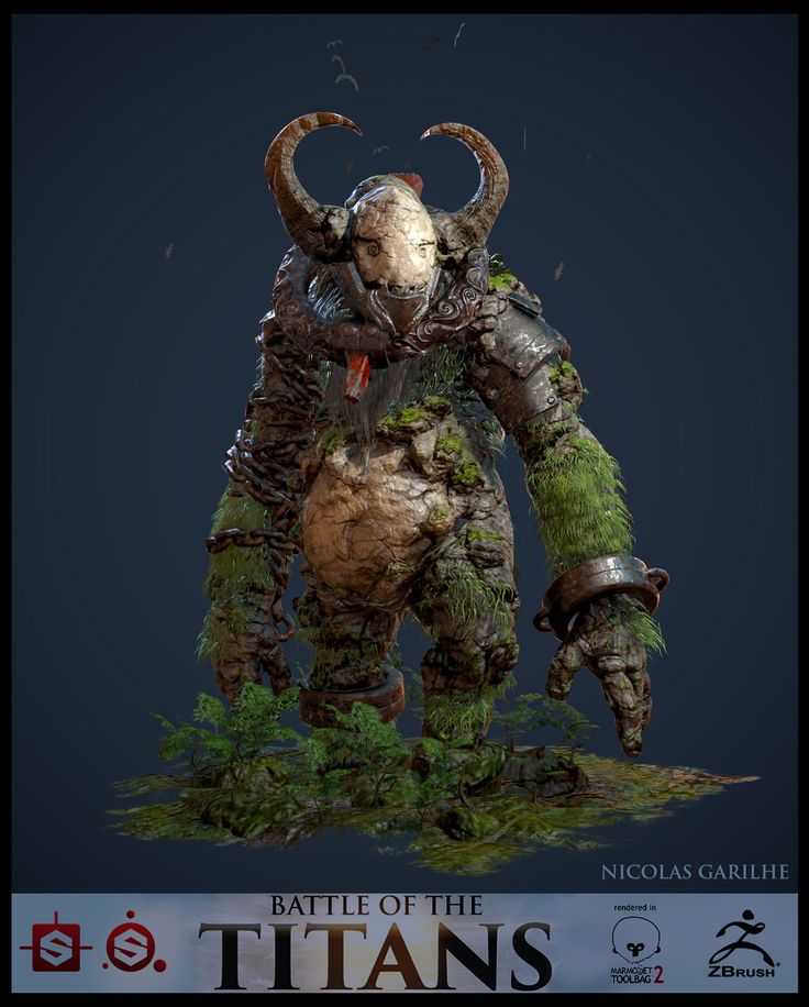 Substance Contest - Unchained Titan, Nicolas Garilhe on ArtStation at http://www.artstation.com/artwork/substance-contest-unchained-titan