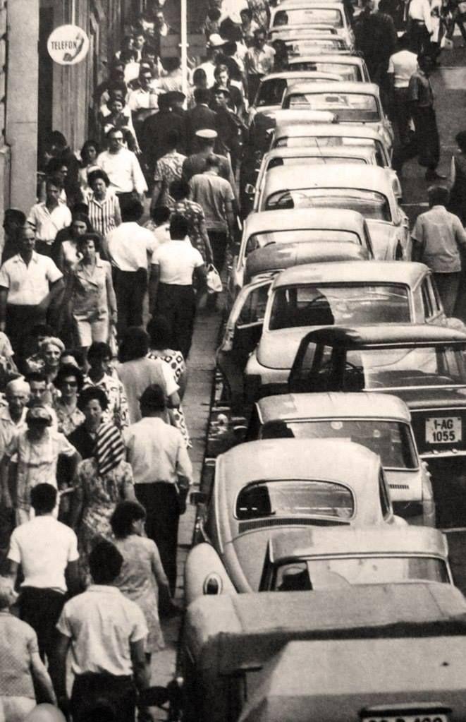 Strada Lipscani, 1975.