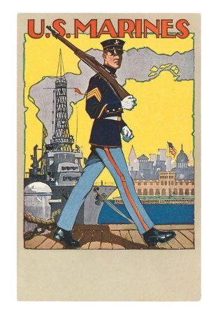 Vintage WWII Poster