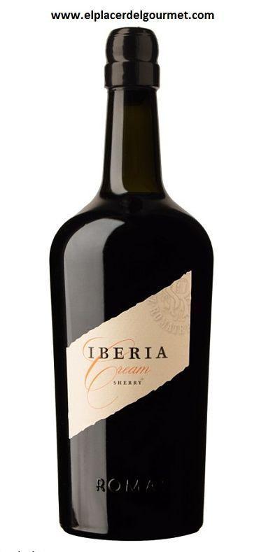VINO JEREZ CREAM IBERIA BODEGAS SANCHEZ ROMATE 75CL. oferta #sherryweek 12,5€ http://www.elplacerdelgourmet.com/es/cream-pedro-ximenez/814-vino-jerez-cream-iberia-bodegas-sanchez-romate-75cldo-jerez-xeres-sherry.html