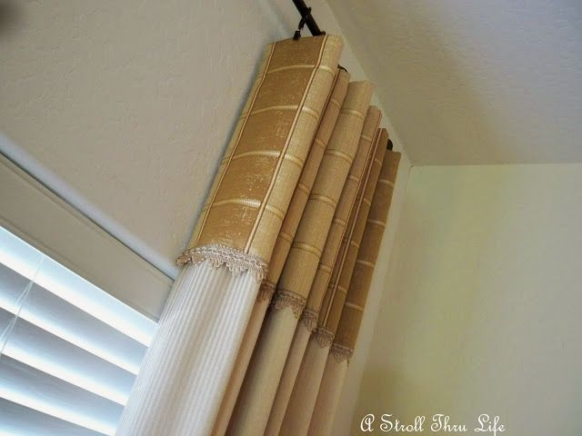 A Stroll Thru Life: How to Professionally Hang Drapes