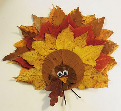 15 Creative Crafts Using Fall Leaves #fall #Thanksgiving #kids #crafts