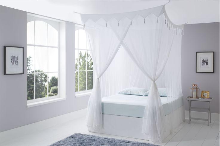 Decorative Cotton Mosquito Net Box Queen Size