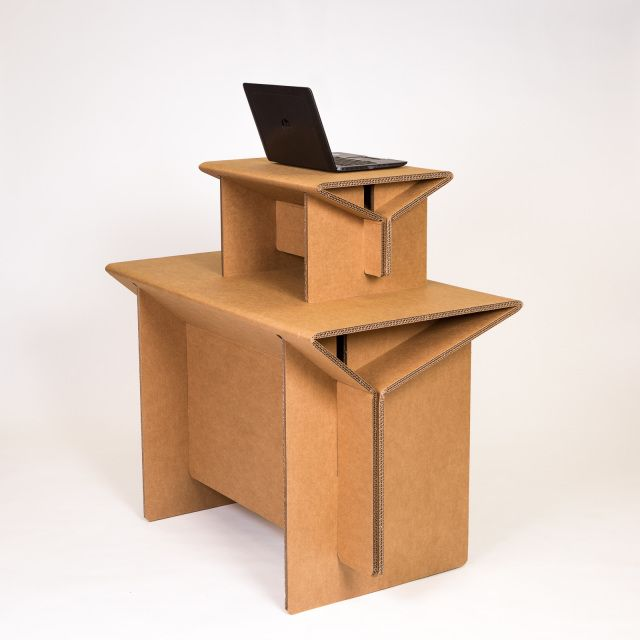 Cardboard Furniture For The Urban Nomad