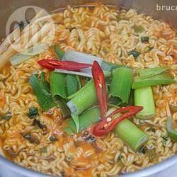 Foto recept: Ramen Noodles op mijn manier