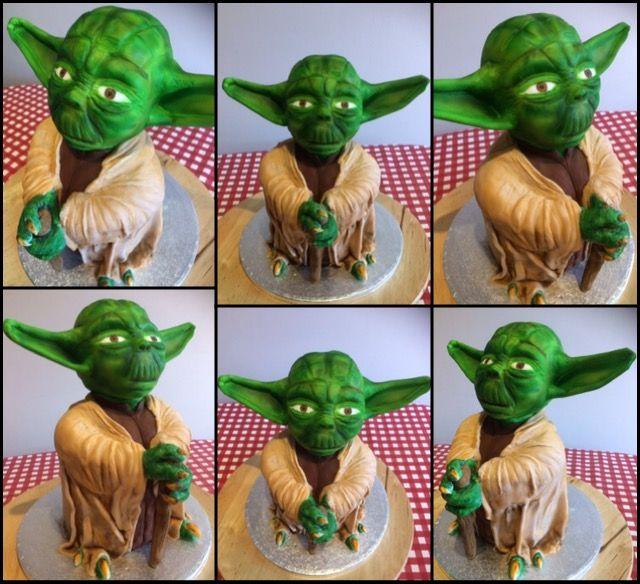 Yoda cake! Please see video https://youtu.be/JMVv_lWW2zE