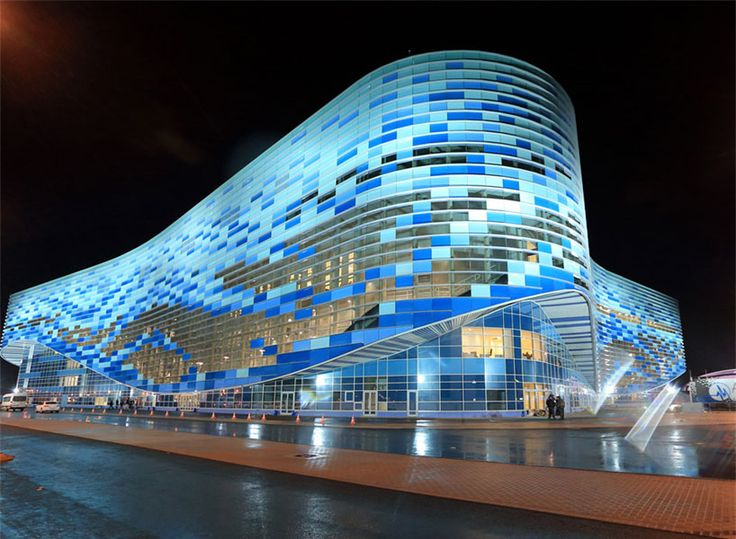 iceberg skating palace by GUP MNIIP mosproject-4 for sochi 2014 winter olympics