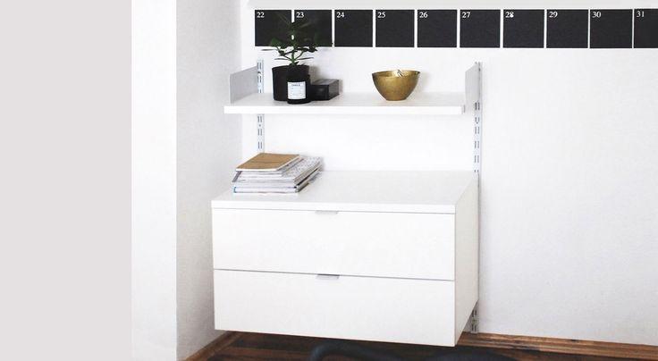 die besten 25 b roregale ideen auf pinterest home office regale f r w nde und. Black Bedroom Furniture Sets. Home Design Ideas