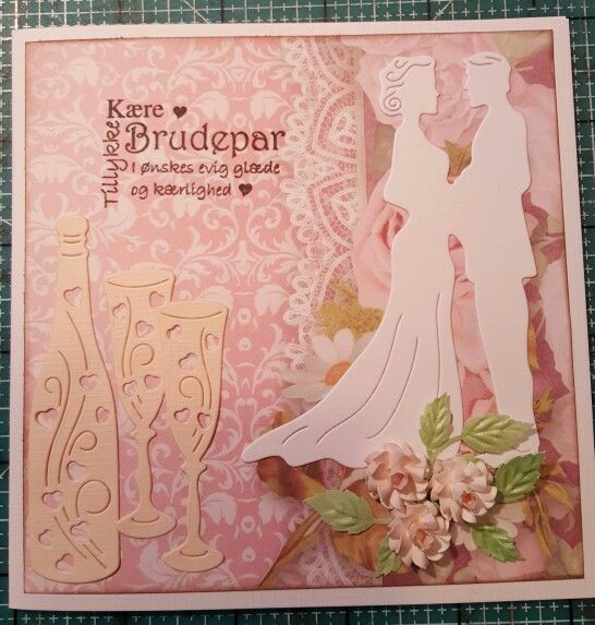 Bryllupskort 1