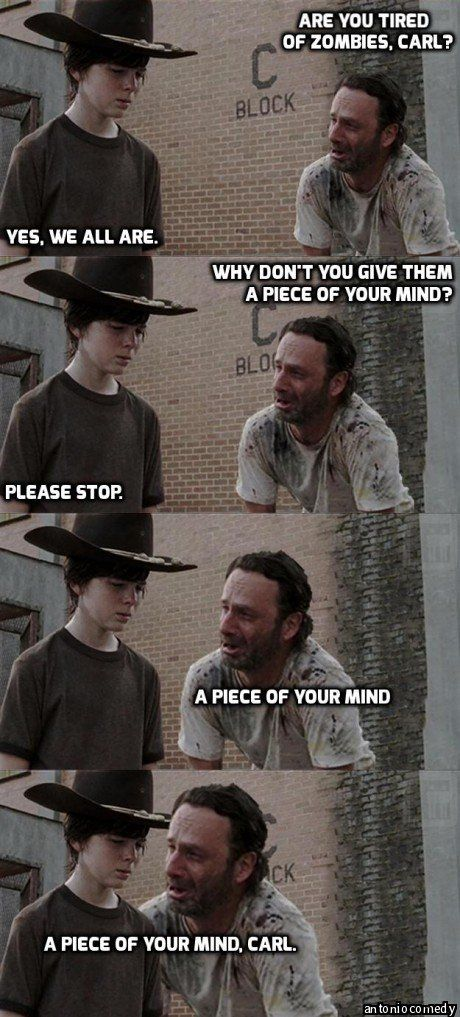 e1d5ca2ca800cc60372ea22d958db07e dads dad dad 123 best rick & carl grimes humor images on pinterest funny